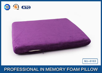 China Non-Slip Memory Foam Seat Cushion for Back Pain / Memory Foam Chair Pads supplier
