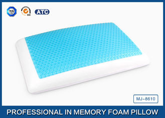China Therapeutic Memory Foam Cooling Gel Pillow , Viscosity Stay Cool Bamboo Pillows supplier