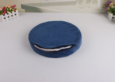 China Lovely High Density Memory Foam Round Chair Pads / Memory Foam Dining Chair Cushion supplier