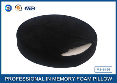 China Lovely High Density Round Memory Foam Seat Cushion / Memory Foam Dining Chair Pads supplier