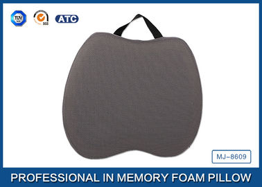 China Portable Cooling Gel Visco Elastic Memory Foam Seat Cushion with High Quality Cover supplier