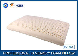 China Cotton Cover Latex Foam Rubber Pillow Size in 60 × 40 × 13 cm , Tempurpedic Pillow supplier