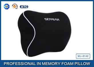 China Memory Foam Head Rest Car Neck Support Pillow , Soft Memory Foam Pillow supplier