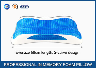 Good Quality Traditional Memory Foam Pillow & Oversize Cooling Gel Visco Memory Foam Pillow, Aloe Vera bamboo gel pillow on sale