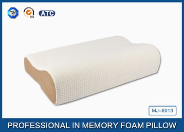 china high density slow recovery cervical memory foam contour pillow with soft cover distributor