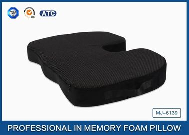 Good Quality Traditional Memory Foam Pillow & Orthopedic Coccyx PU Memory Foam Seat Cushion Non - slip Bottom with Handle on sale