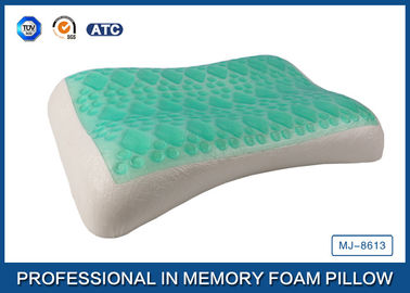 Good Quality Traditional Memory Foam Pillow & Wave Contour Shape Cooling Gel Memory Foam Pillow For Adults Good Sleep on sale