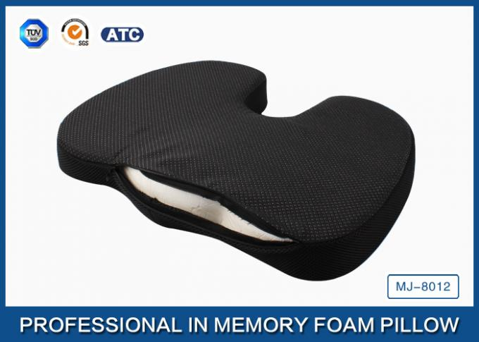 Orthopedic Memory Foam Coccyx Cushion For Relief Of Tailbone Pain With Non - slip Base