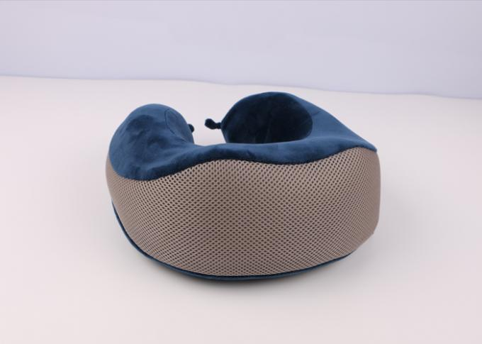 Contour Memory Foam Travel Neck Pillow U - shape Pillow with Diversity Pillow Case in Airplane