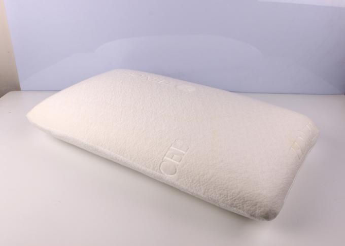 Comfort Traditional Health Care Open-Cell Latex Foam Pillow With Soft Cover