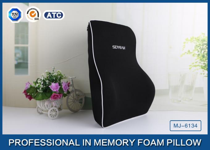 OEM and ODM Comfortable Memory Foam Back Support Cushion With Ultra-soft Cover